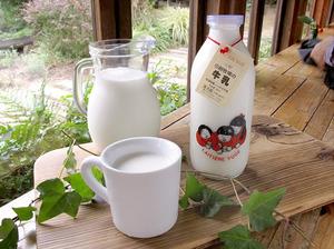 弓削牧場『低温殺菌ノンホモ牛乳(瓶入り)』
